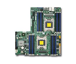 Серверная материнская плата Supermicro Socket2011 X9DRW-3F